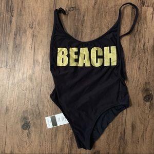 NWT Triya BEACH One Piece Swimsuit